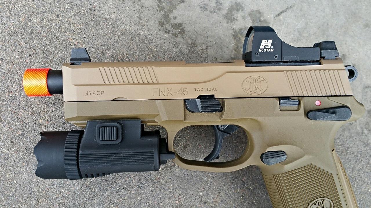 Cybergun Fn Herstal Fnx 45 Airsoft Pistol Review Fox Airsoft Llc